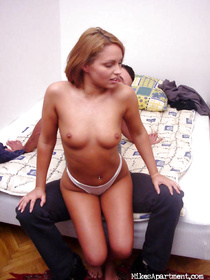 Horny redhead actress is enjoying passionate sex with her amateur partner. He is penetrating her sensual holes in extremely hardcore manner.