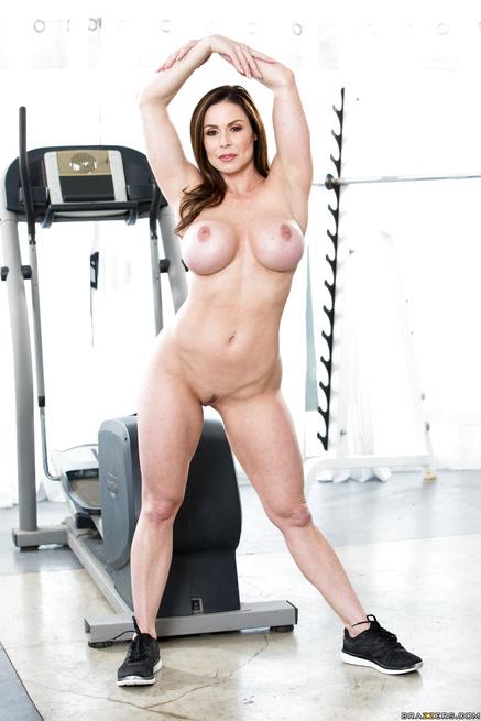 Fitness Freak Star Kendra Lust Gym Workout Freexcafe 1