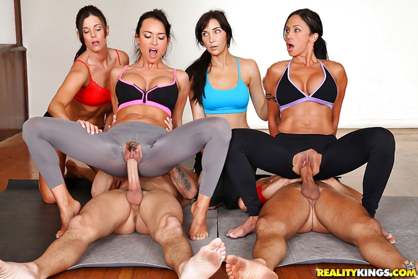 Francesca James Yoga Let Me Jerk 1