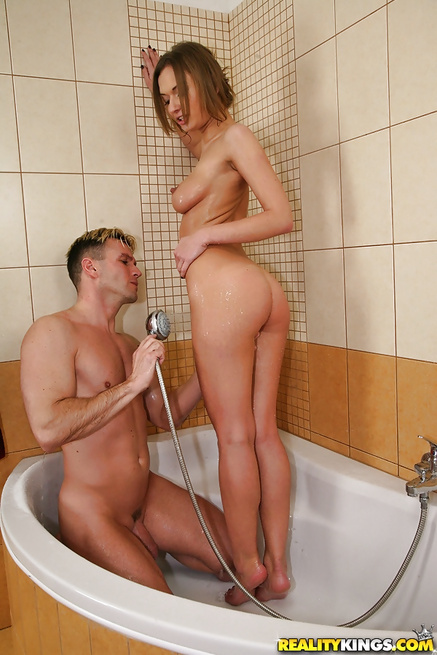 son-and-take-shower-girl-play-cock-watches-boyfriend-fuck